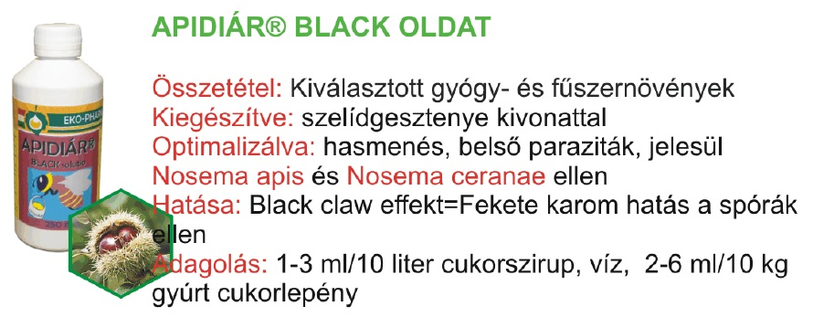 Apidiár Black