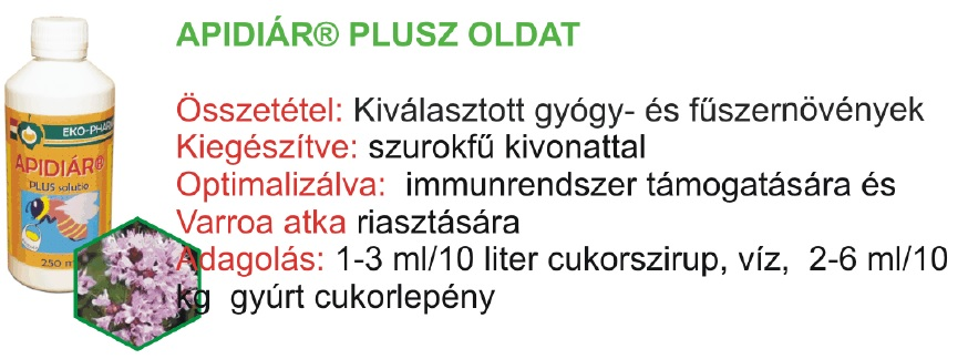 Apidiár Plusz